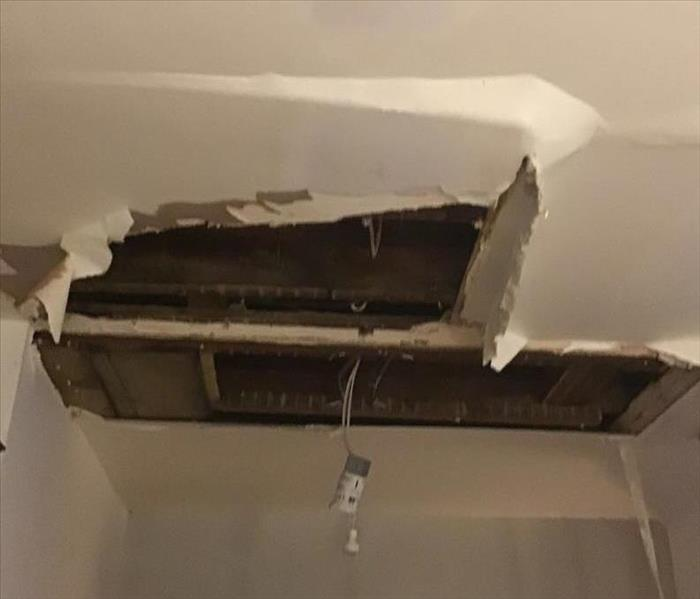 Wet Drywall Needs to be Cut Out