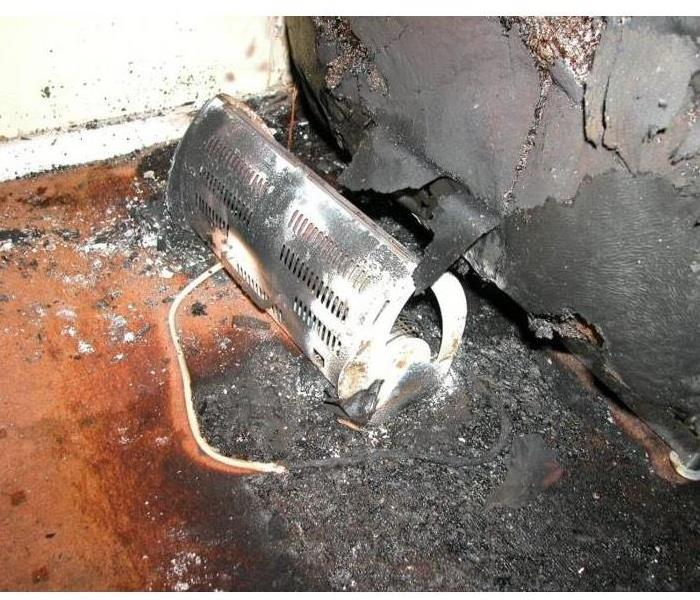 Fire Damage Leading Cause of House Fires? Electric Heaters!