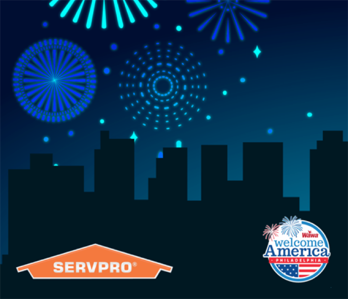 Community Join SERVPRO at the WaWa Welcome America Festival June 29 - July 4